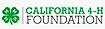 The California 4-H Foundation logo
