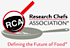 Research Chefs Association logo