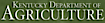 Agriculture, Kentucky Department of logo