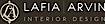 Lafia Arvin A Design logo