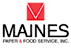 Maines Paper & Food Service logo