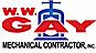 W W Gay Mechanical Contractor logo